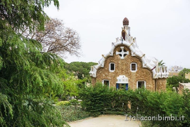 Barcellona - Parc Guell casa Gaudi