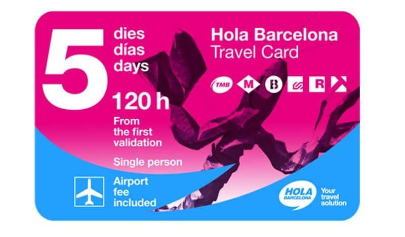 Barcelona Card 120 ore