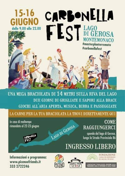 Carbonella Fest volantino