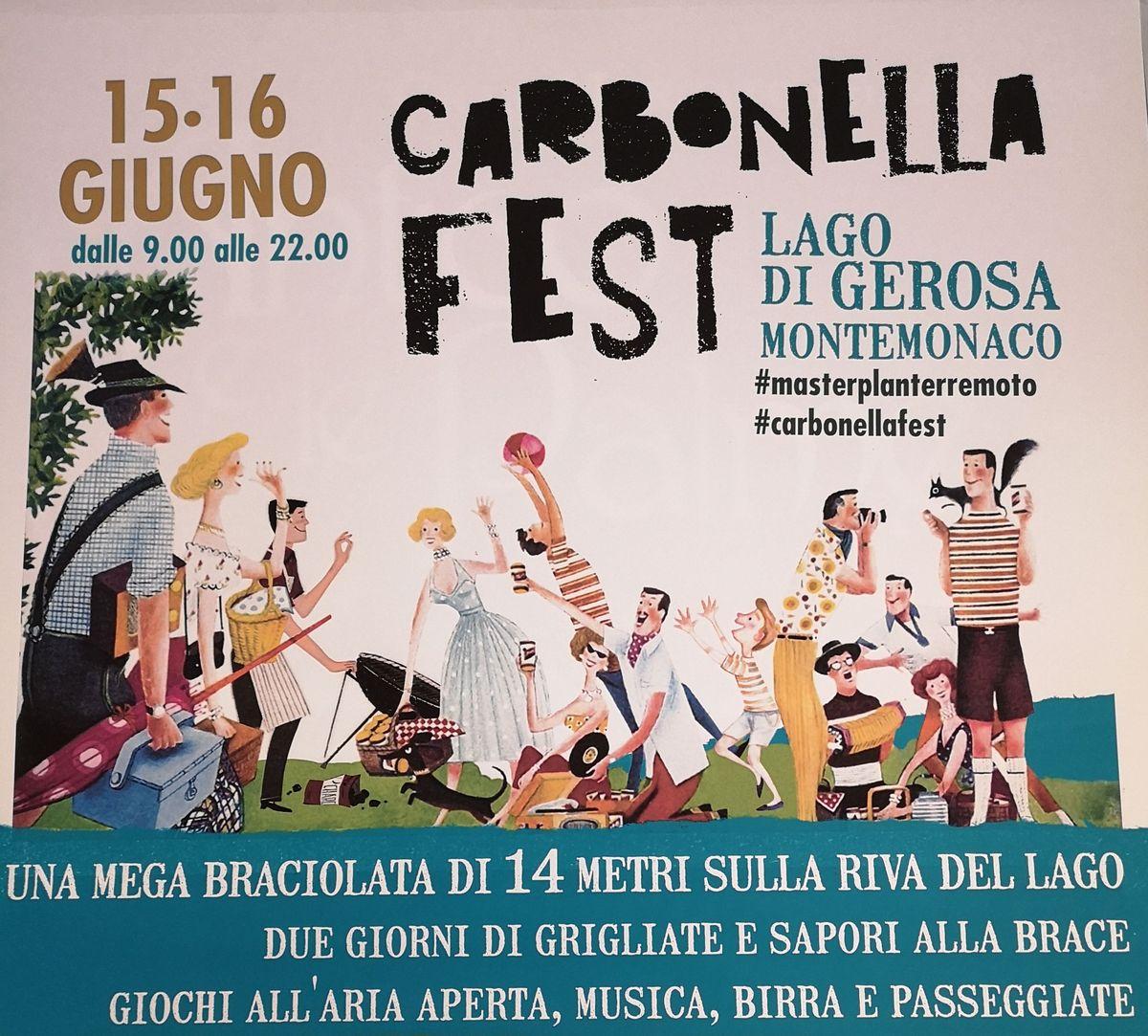 Carbonella fest locandina