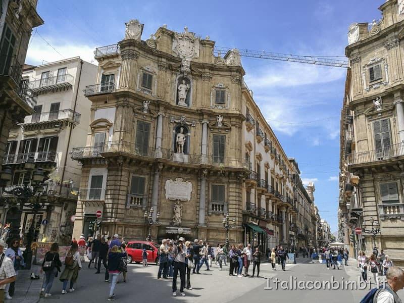 Palermo - i quattro canti