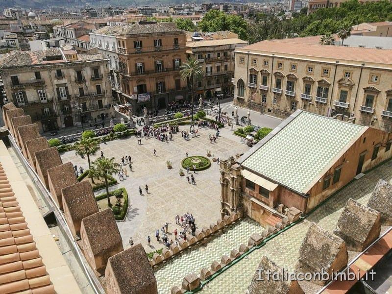 Palermo-vista-dal-tetto-della-cattedrale