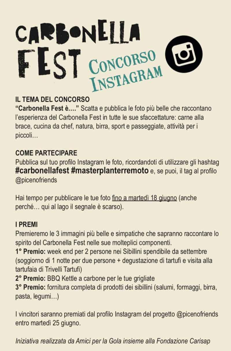 contest Carbonella Fest