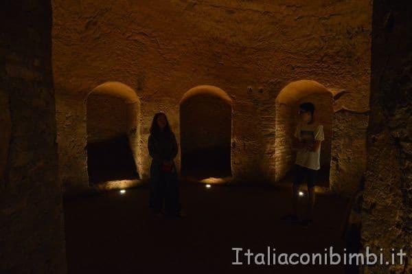 Santarcangelo di Romagna visita alle grotte