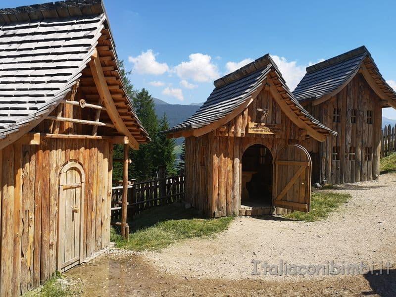 casette del villaggio gnomi
