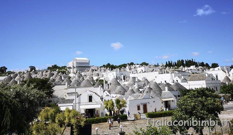 Alberobello - paesaggio
