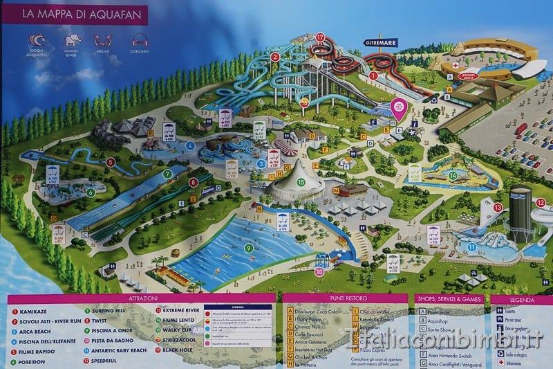 Aquafan- mappa
