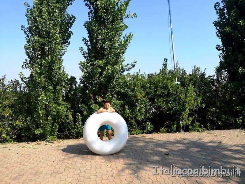 Aquafan gommone per scivoli alti
