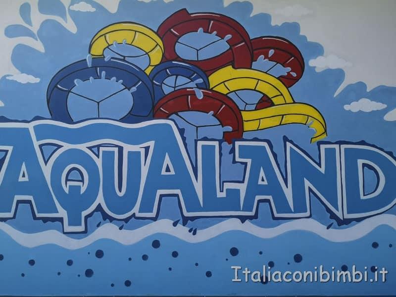 Aqualand di Vasto - insegna del parco