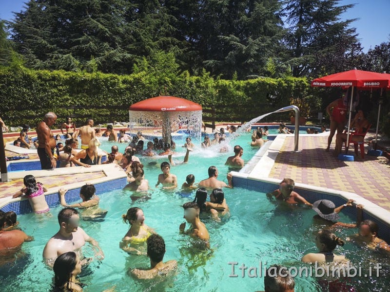 Aqualand di Vasto - piscina idromassaggio