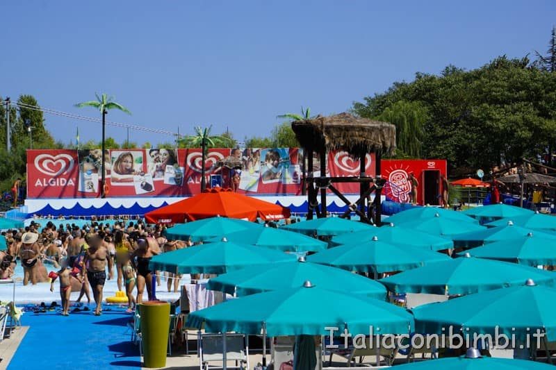 Aqualand di Vasto - piscina onde