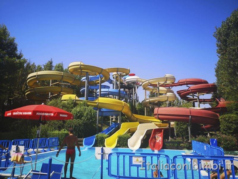 Aqualand di Vasto - scivolo Toboga