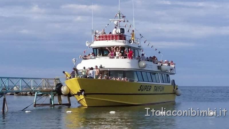 Bellaria Igea Marina - motonave TayFun