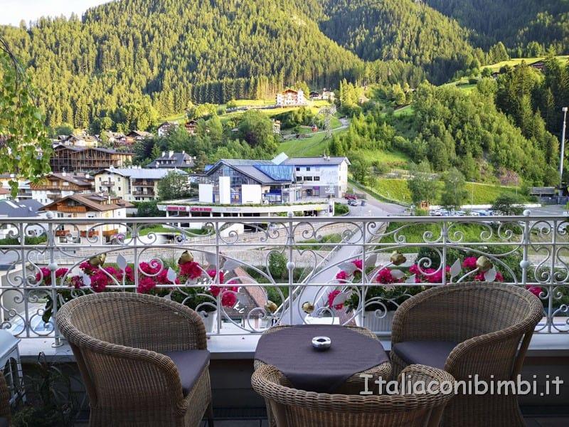 Cavallino Bianco - terrazza del ristorante