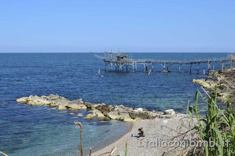 Costa dei Trabocchi- spiaggia del Turchino Marina di San Vito