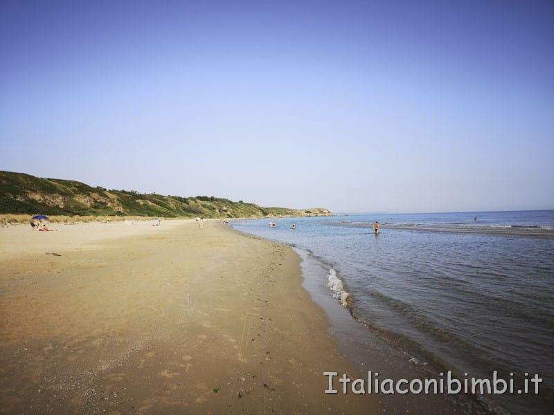 Costa dei Trabocchi- spiaggia di Punta Penna