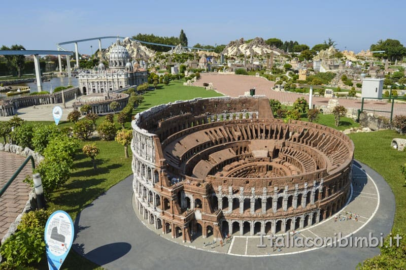 Italia in miniatura - Colosseo