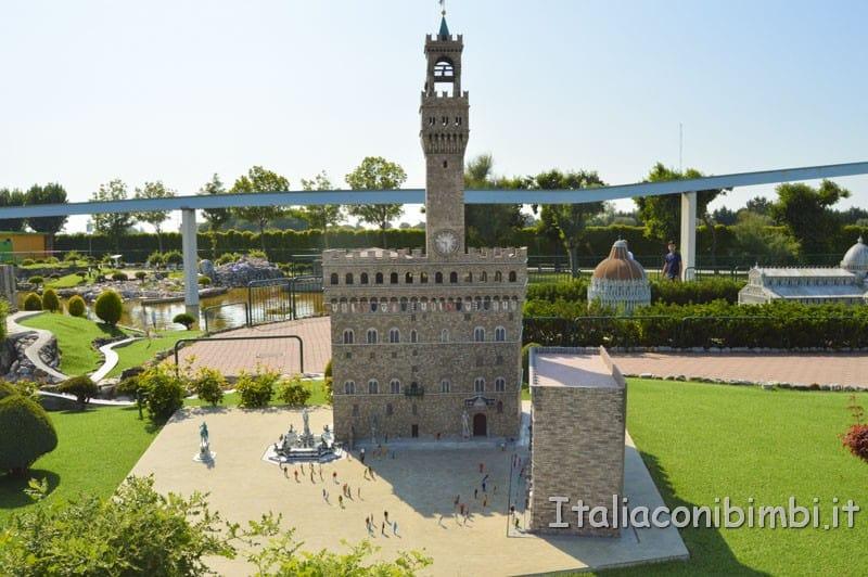 Italia in miniatura - Piazza della Signoria Firenze
