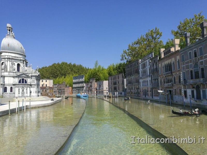 Italia in miniatura - ricostruzione della laguna di Venezia