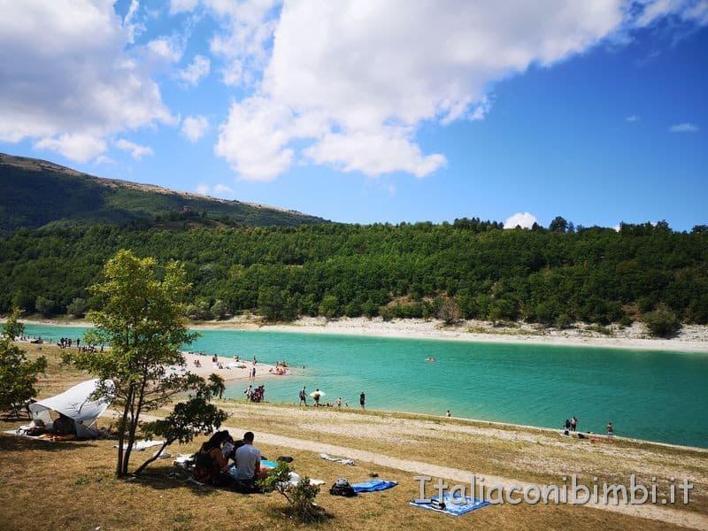 Lago di Fiastra - picnic