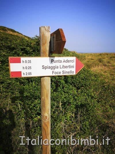 Riserva di Punta Aderci - sentiero