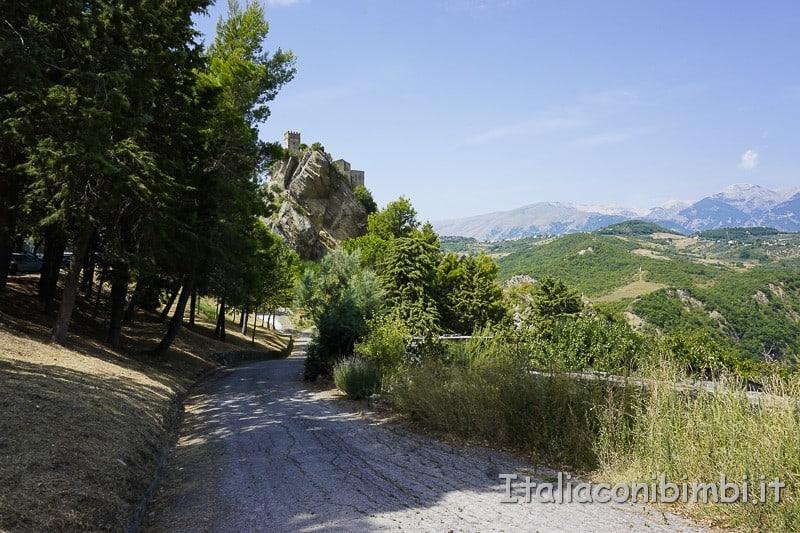 Rocca Scalegna - panorama
