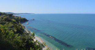 Vasto - panorama dall'Eremo dannunziano di Marina di San Vito