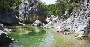 Villa Santa Maria - laghetto nelle piscine naturali Sangro