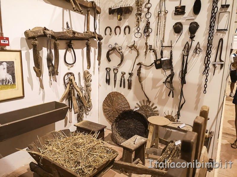 Ripatransone - Museo della civiltà contadina ferri di cavallo