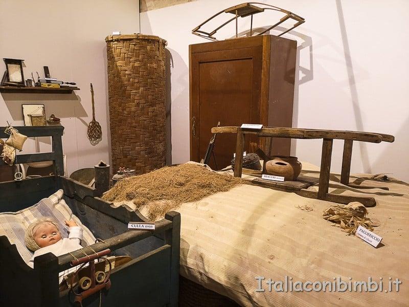 Ripatransone - Museo della civiltà contadina letto