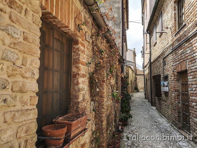 Ripatransone - vicolo del borgo