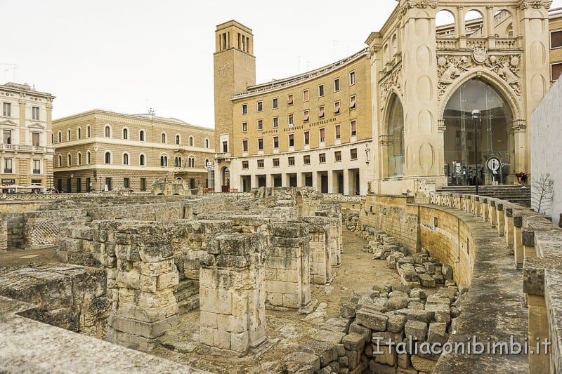 Salento- Lecce anfiteatro romano