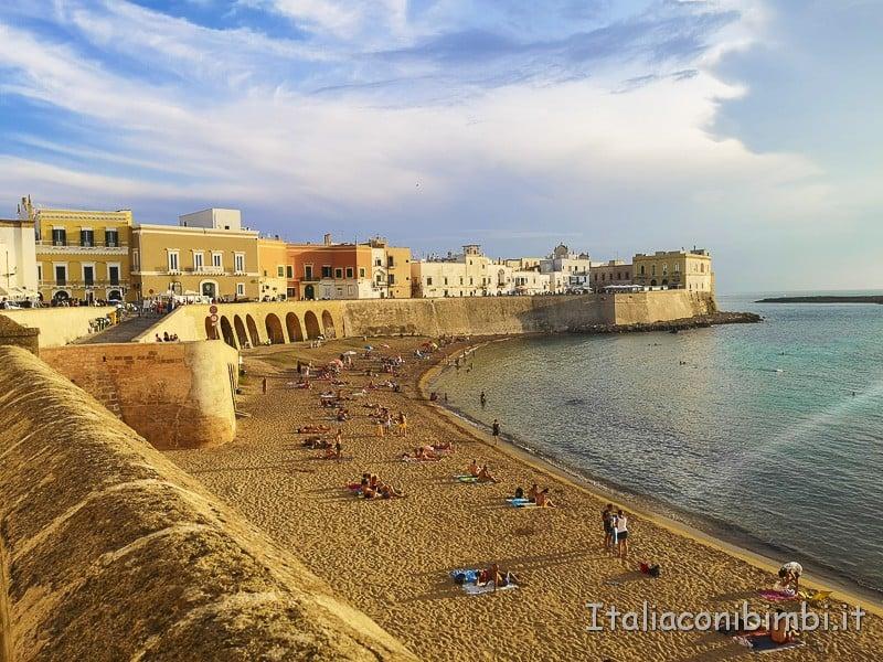 Salento- Spiaggia di Gallipoli
