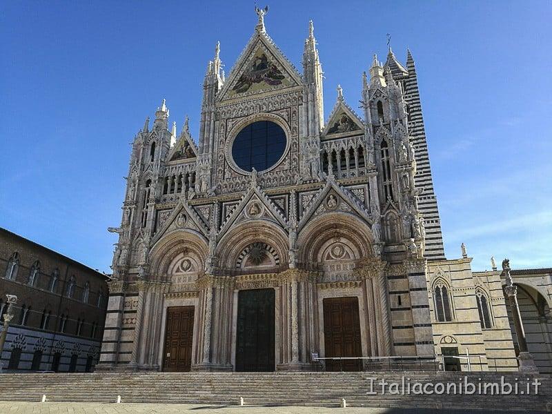 Siena - facciata del Duom