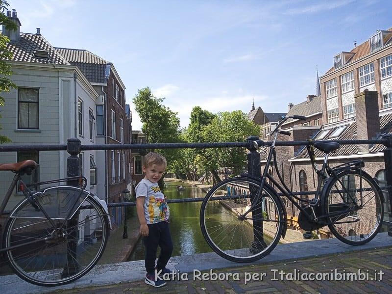 Utrecht- canali e biciclette