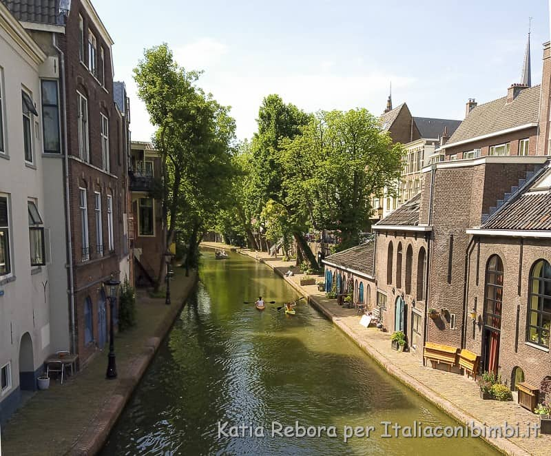 Utrecht- canoe sul canale