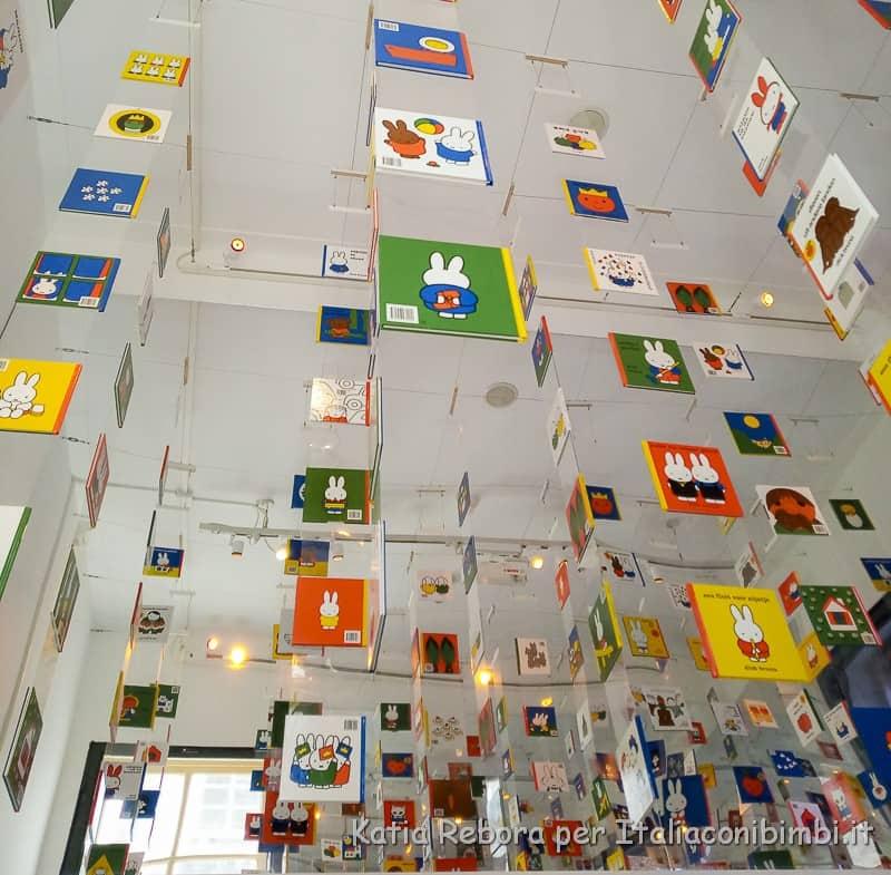 Utrecht- interni del Miffy Museum