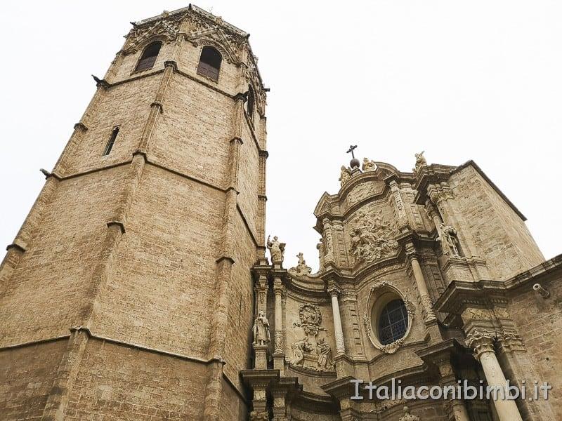 Valencia- Cattedrale da sott