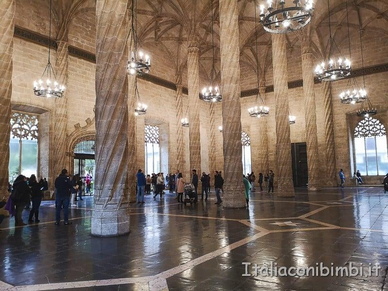 Valencia-Lonja-de-la-Seda-interni