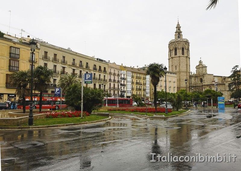 Valencia- Piazza della Reina