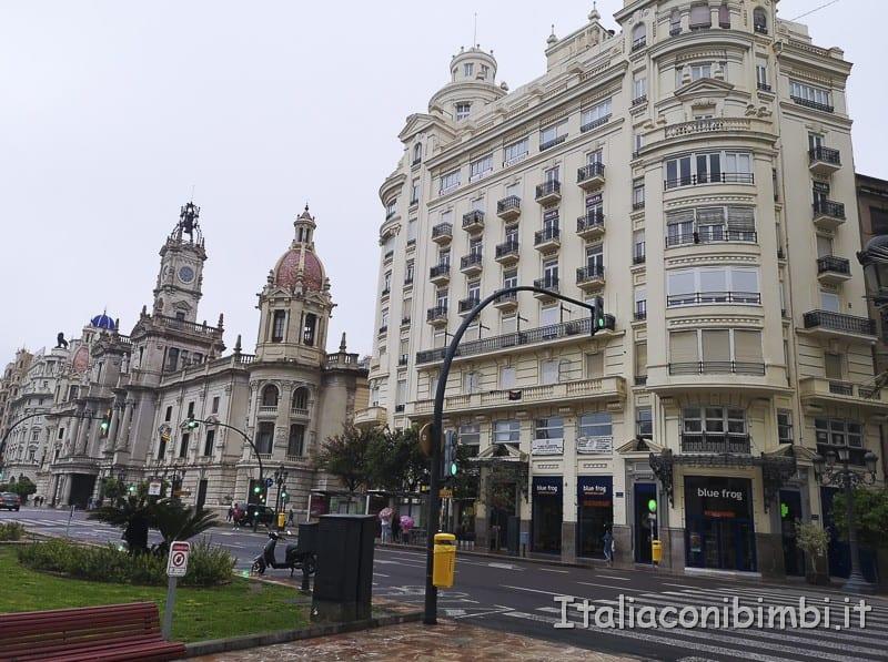 Valencia- Placa Ayuntamiento e centro