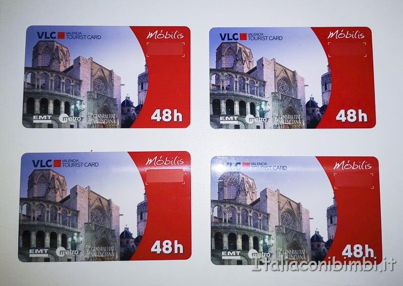 Valencia- carte turistiche