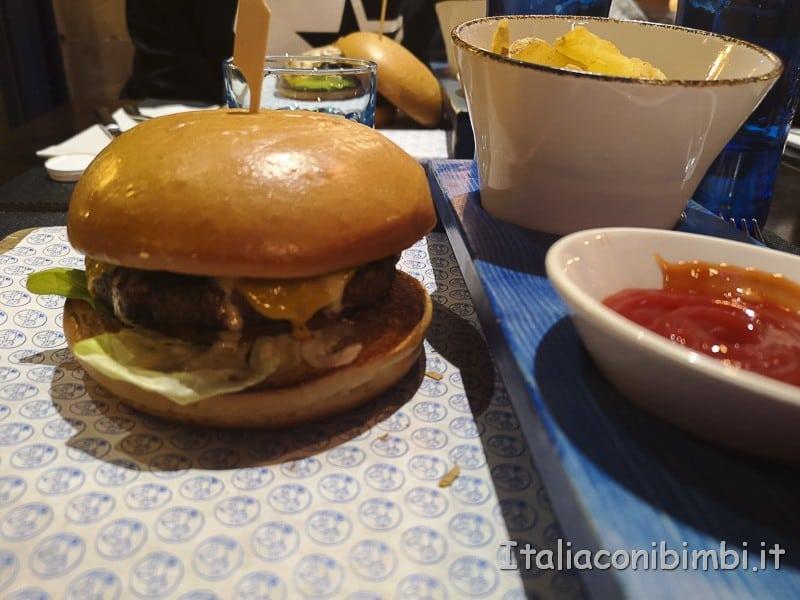 Valencia- hamburger di Blue Frog