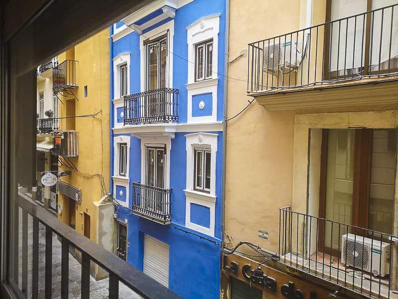 Valencia- vicolo della nostra casa