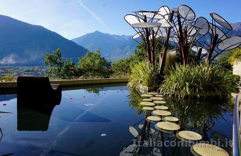 Giardini Trauttmansdorff di Merano - Giardino degli innamorati panorama