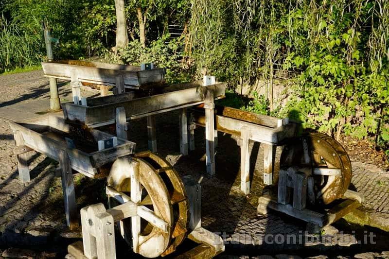 Giardini Trauttmansdorff di Merano - giochi d'acqua