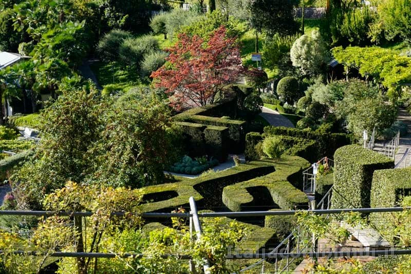 Giardini Trauttmansdorff di Merano - labirinto