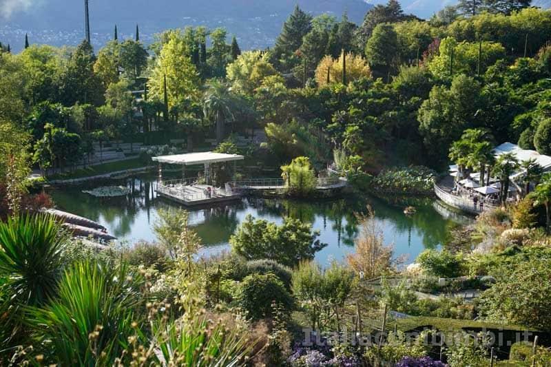 Giardini Trauttmansdorff di Merano - laghetto delle ninfee