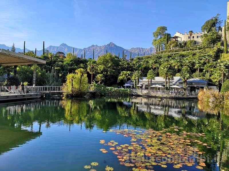 Giardini Trauttmansdorff di Merano - laghetto ninfee
