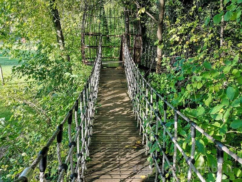 Giardini Trauttmansdorff di Merano - ponte tibetano